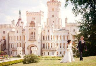 Свадьба в замках Праги