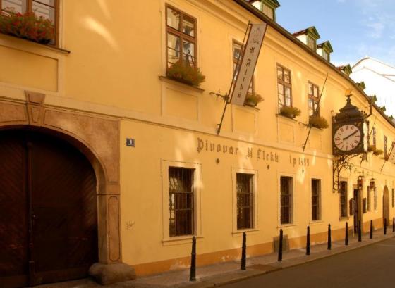Пивоварня «У Флеку» в Праге