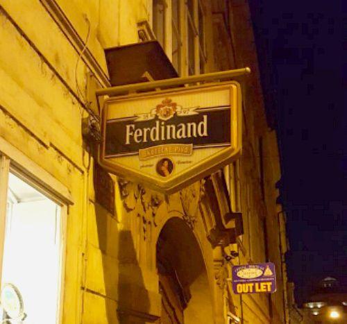 Ресторан Фердинанда в праге