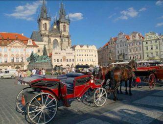 прокат карет в Праге