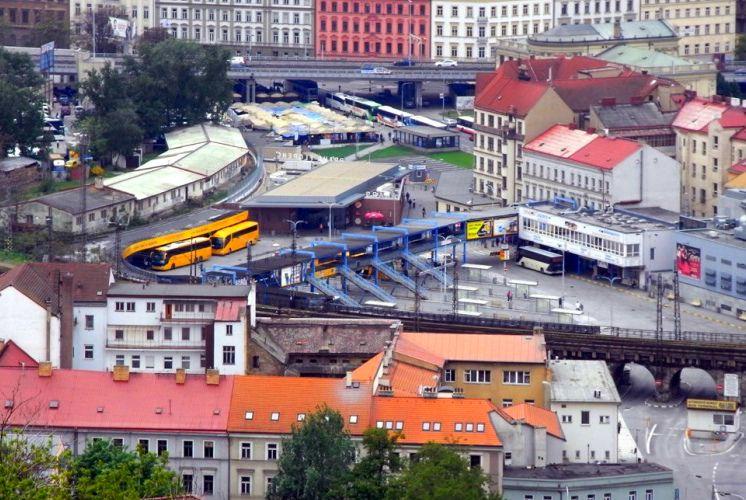 Автовокзалы Праги