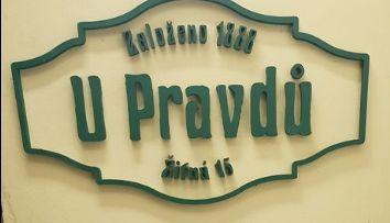 ПивнаяУ Правду в Праге