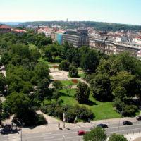 Карлова площадь — самая «зеленая» площадь Праги